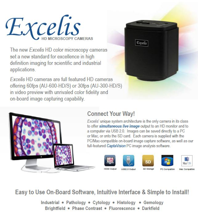 Excelis HD Camera - Meyer Instruments