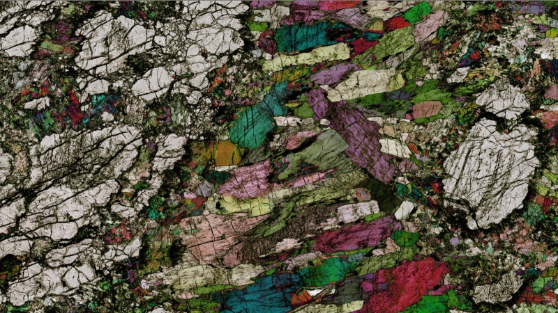 Precambrian Hornblendite Pol